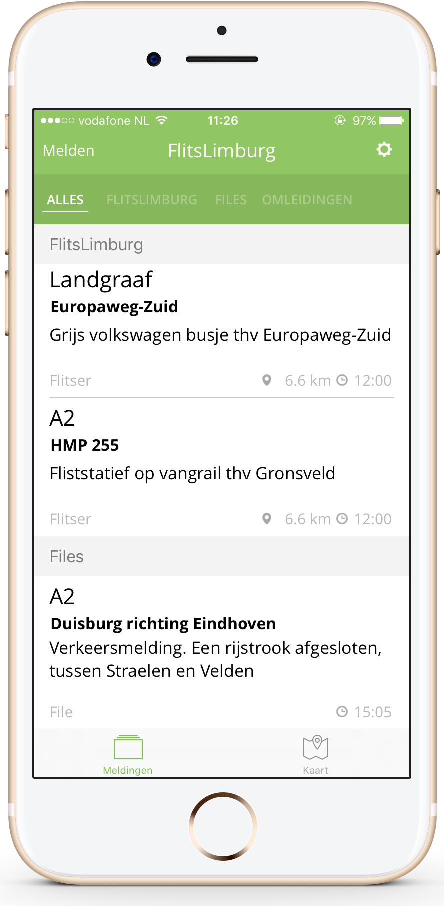 FlitsLimburg app